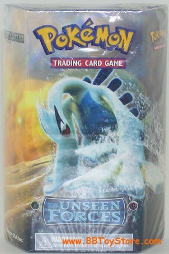 Pokemon Trading Card Game EX Unseen Forces Theme Deck Silvery Ocean Lugia