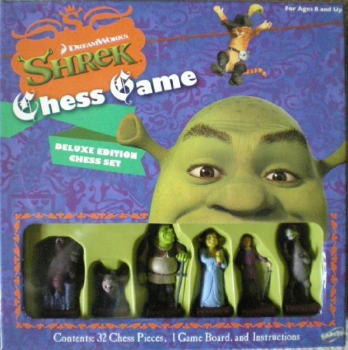 Sababa Shrek The Third Deluxe Chess Board Game