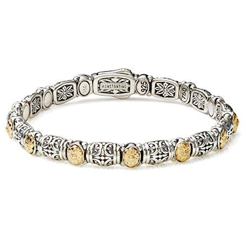 Konstantino Women's Silver & 18k Gold Clasp 94 Bracelet