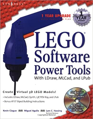 Lego Software Power Tools With Ldraw Mlcad And Lpub Kevin Clague