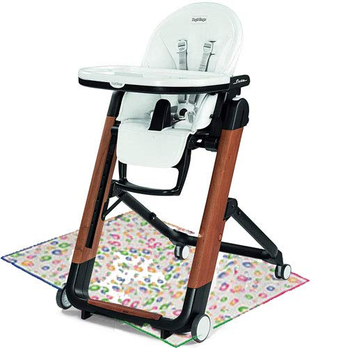 Peg Perego Siesta High Chair - Ambiance Brown with Splat Mat
