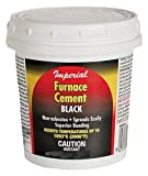 Furnace Cement Black 32Oz Imperial Manufacturing Cements KK0304 063467850847