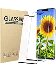 [2 Pack] Huawei Mate 30 Pro Screen Protector,HD Clear 9H Hardness Scratch Resistant Tempered Glass Protective Film for Huawei Mate 30 Pro