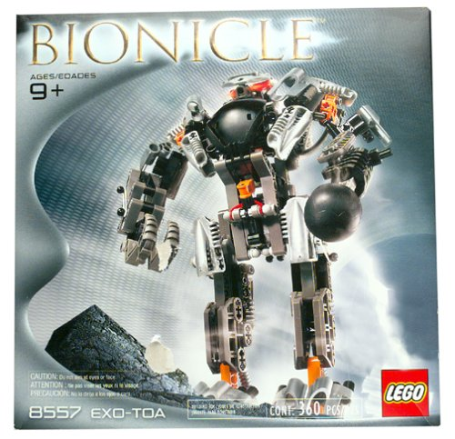 Lego Bionicle Boxed Set Exo-Toa #8557 Impossible to Find!