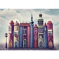 Nova 1000 Parça Kitapların Sihirli Dünyası Puzzle - Kitap Şehri