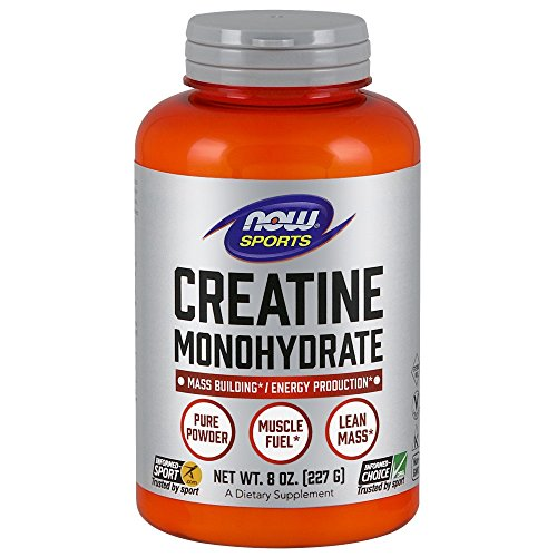 NOW Sports Nutrition, Creatine Monohydrate Powder, 8-Ounce