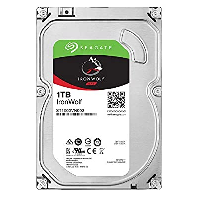 Seagate IronWolf NAS SATA 6Gb/s NCQ 64MB Cache1 (Renewed) from SEAEL