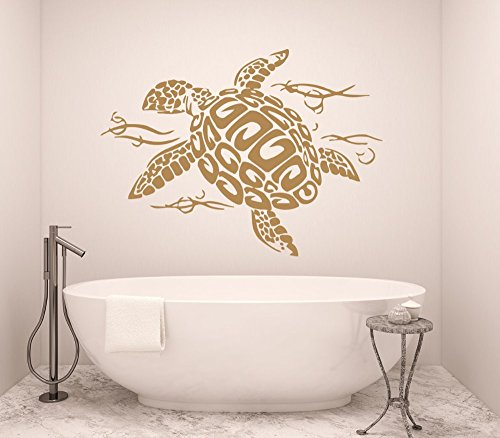 sea turtle wall decals kritters in the mailbox sea turtle wall decal. Black Bedroom Furniture Sets. Home Design Ideas