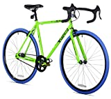 Takara Renzo Fixie Bike, 57cm/Large, Green/Blue