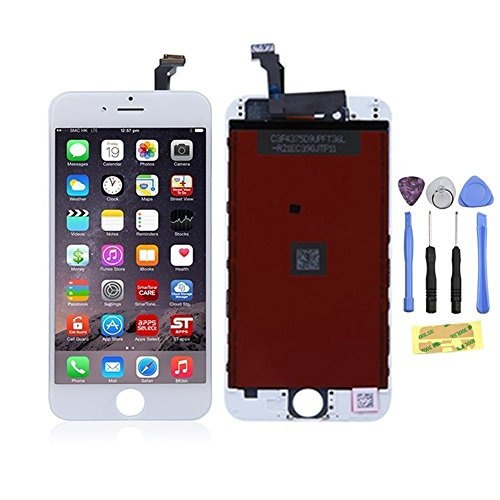 """OEM White LCD Display Touch Digitizer Screen Assembly Replacement for iPhone 6 Plus 5.5"""" Model A1522 / A1524"""
