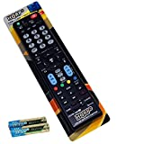 HQRP Remote Control for LG 43LF5400 49LF5400 32LF550B 42LF5500 55LF5500 32LF5600 60LF6300 42LF6500 50LF6500 55LF6500 LCD LED HD TV Smart 1080p 3D Ultra 4K + HQRP Coaster