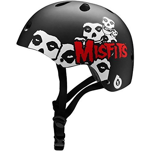- 661 Dirt Lid Icon Misfits Helmet (Black, One Size) (CPSC)