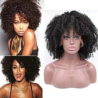 Kinky Afro Lacefront Wig Amara