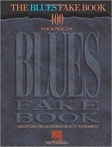 The blues fake book hal leonard corp 9780793558551 amazon books fandeluxe Gallery