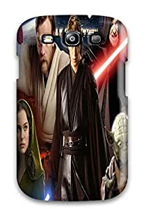 Hot AtnguQs10535JBEHD Star Wars Revenge Sith Tpu Case Cover Compatible With Galaxy S3