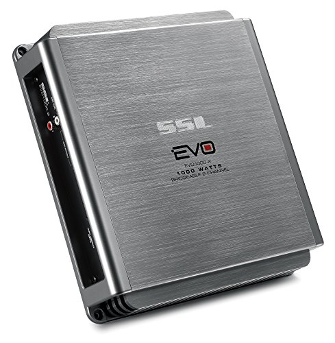 SOUND STORM EVO1000.2 EVO 1000-Watt Full Range, Class A/B 2 to 8 Ohm Stable 2 Channel Amplifier with Remote Subwoofer Level Control (Total Mobile Audio Amp compare prices)