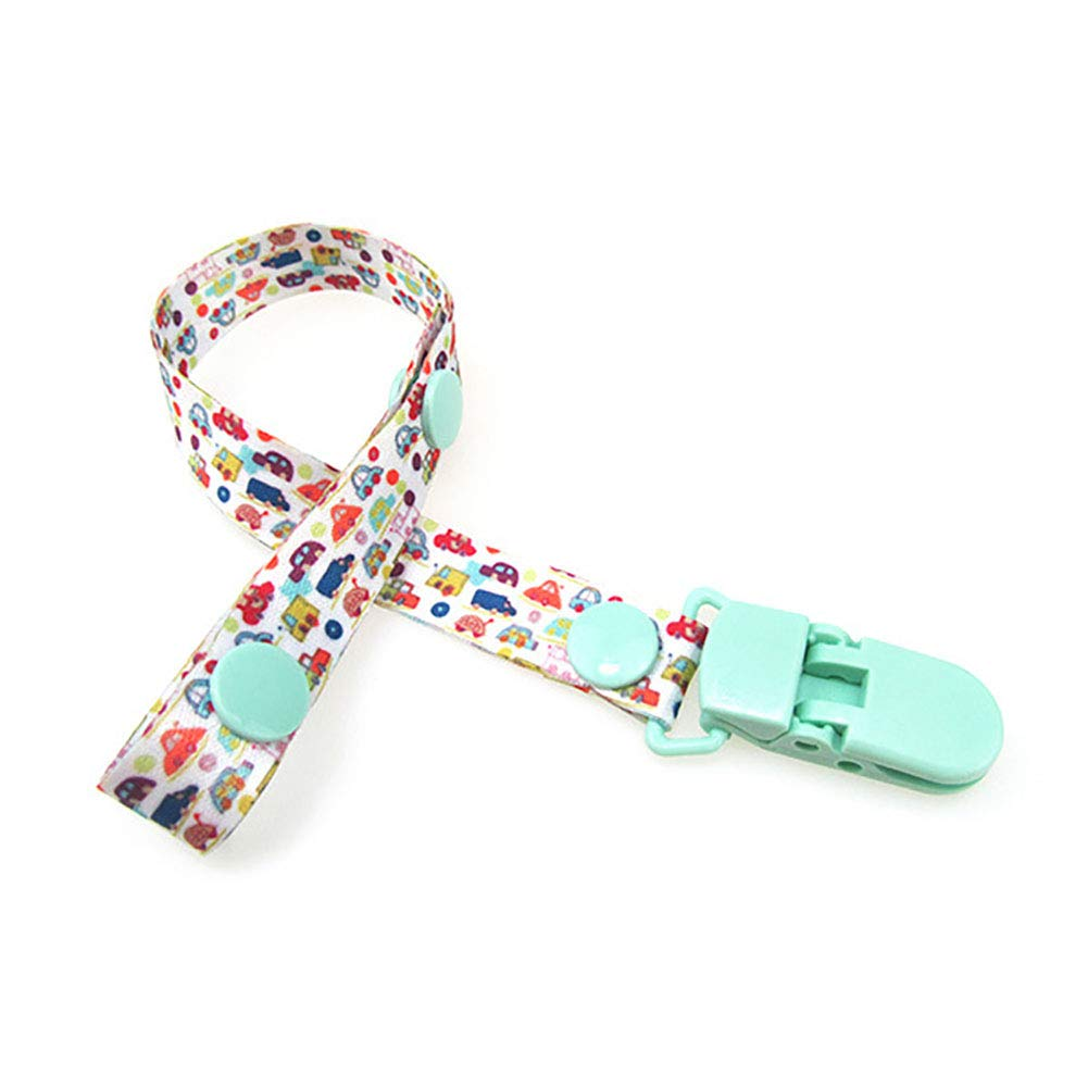 Dummy Clips, Pacifier Holder Strap,Baby Pacifier Clips/Baby Teething Holder Fits All Pacifiers Soothers for Boys and Girls, Perfect Baby Gift Rocita