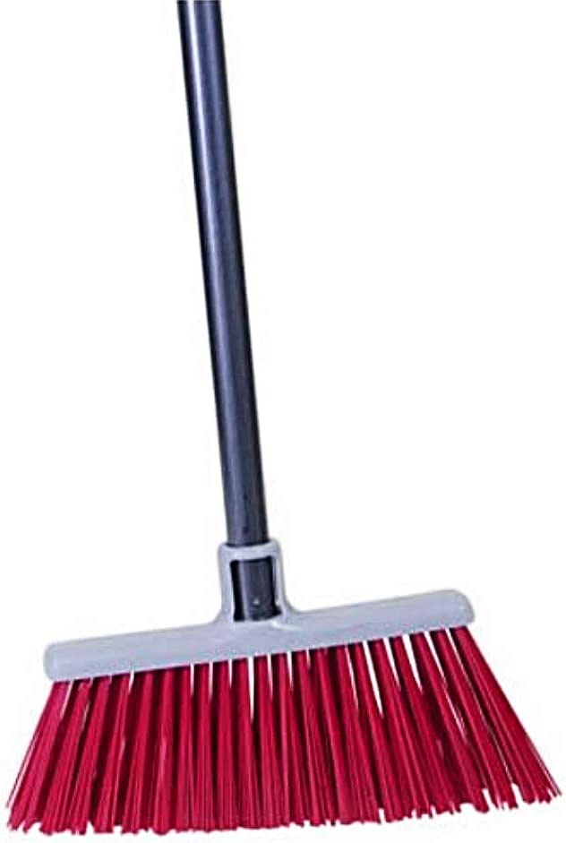 Quickie Bulldozer Rough Surface Upright Broom: Home & Kitchen