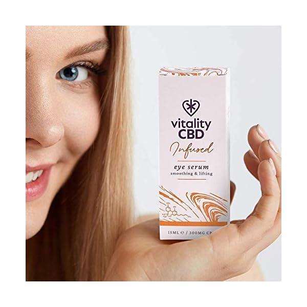 Vitality CBD Infused Eye Serum, 300mg cannabidiol, 15ml
