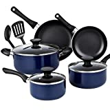 Best Cook N Home Induction Cookwares - Cook N Home 10 Piece Non Stick Black Review