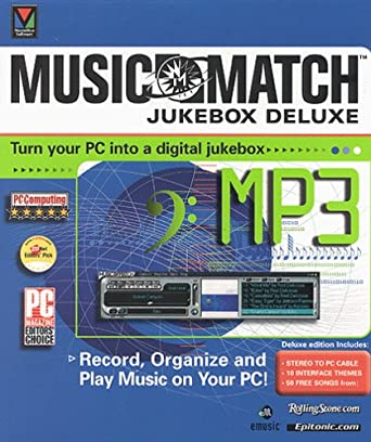 Musicmatch Jukebox Deluxe: Amazon co uk: Software