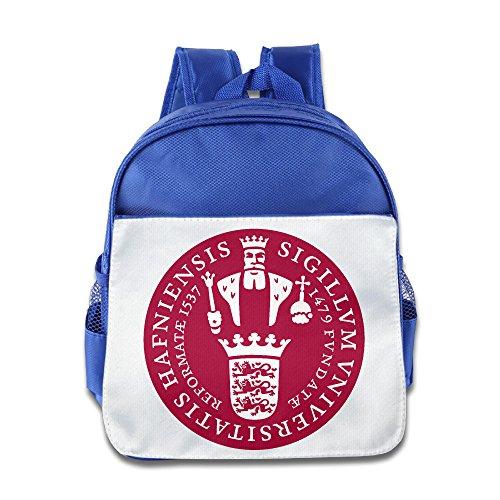 ESSES Child Schoolbag University Of Copenhagen Seal Backpack RoyalBlue