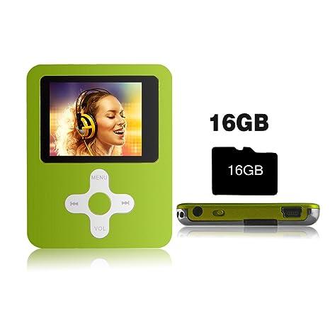 Btopllc - Reproductor de música y vídeo MP3/MP4 con Tarjeta ...