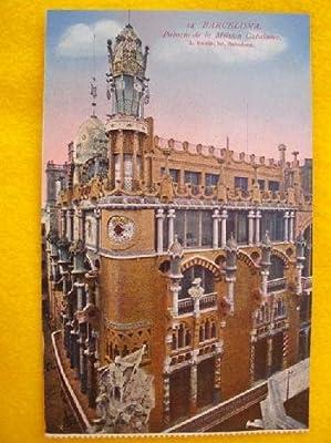 Antigua Postal - Old Postcard : BARCELONA - Palacio de la Música Catalana - España: Amazon.es: Sin autor: Libros