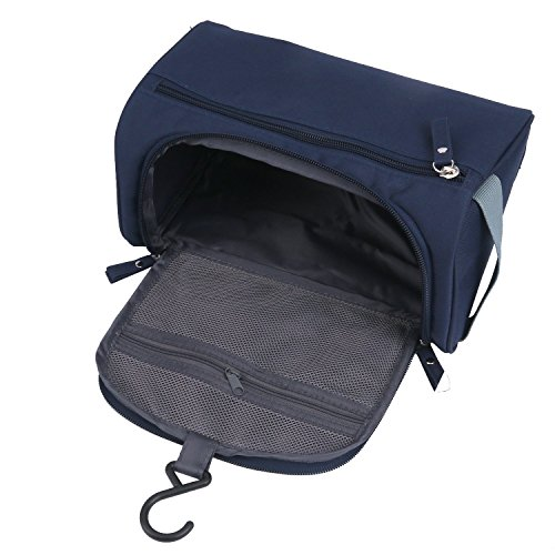 5f13533b5273 ONEGenug Toiletry Bag Overnight Wash Bag Hanging Gym Shaving Bag for Men  and Women Ladies Travel Blue  Amazon.in  Bags