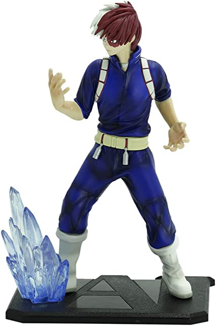 "7.5/"" My Hero Academia Todoroki Shoto Action Figure Model Toy Xmas Gift with Box"