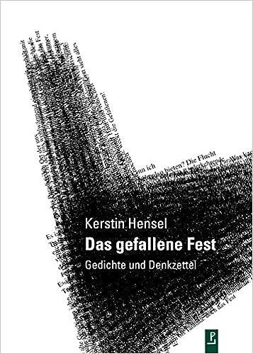 Das Gefallene Fest Gedichte Und Denkzettel Reihe Neue Lyrik