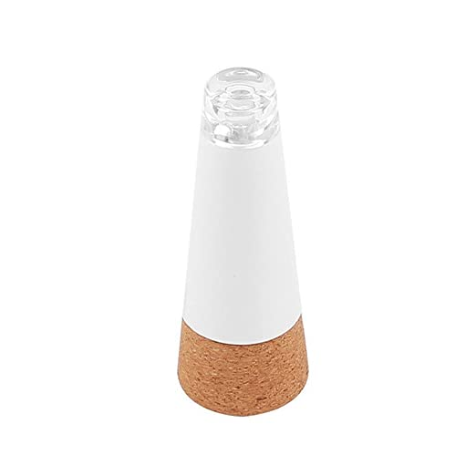 Tapón de corcho con luz LED y batería recargable con USB para