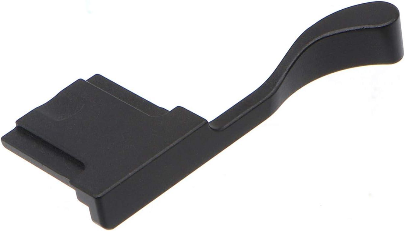 HITHUT Aluminum Alloy Hot Shoe Thumb Grip for Fujifilm X100F X100T X100S Camera Black