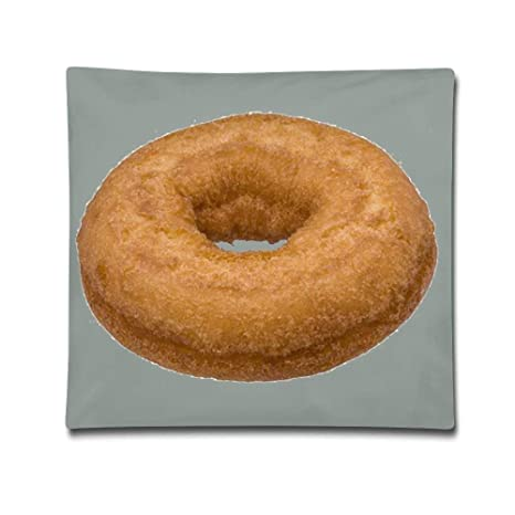 Kailey hello Donut Decorative Square Accent Funny Pillow ...