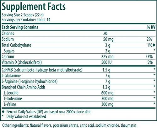 Genestra Brands - HMB Complex - Vegetarian Amino Acid Powder Supplement - Natural Orange Flavor - 16.6 oz (470 g) by Genestra Brands (Image #4)