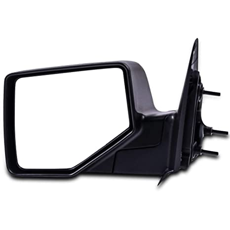 Mirror For 2006-2011 Ford Ranger Front Driver Side Textured Black Manual Folding