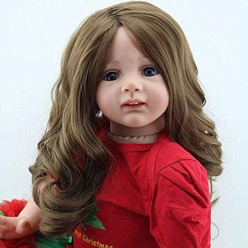 Herboren poppen, verzorgende poppen, wedergeboorte pop 60 cm simulatie babykleding model meisje geschenkdoos speelgoed 24 inch