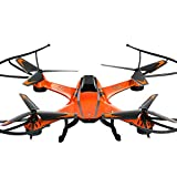 Tiean YD- A8 4CH 6-Axis Gyro 0.3MP Camera RC Quadcopter 360° Flips Aircraft Drone Toy (Orange)