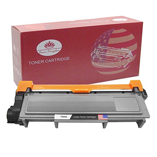 Toner Kingdom New Compatible with Brother TN660 TN630 High Yield Toner Cartridge for Brother HL-2340 HL-L2340DW HL-L2360DW HL-L2320D DCP-L2540DW DCP-L2520DW MFC-L2700DW MFC-L2740DW - 1 Pack, Black