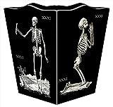 WB1592- Skeleton Wastepaper Basket