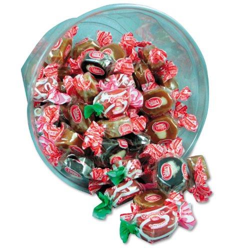 Goetz's Light & Dark Caramel Creams Candy (24 oz. Bowl)