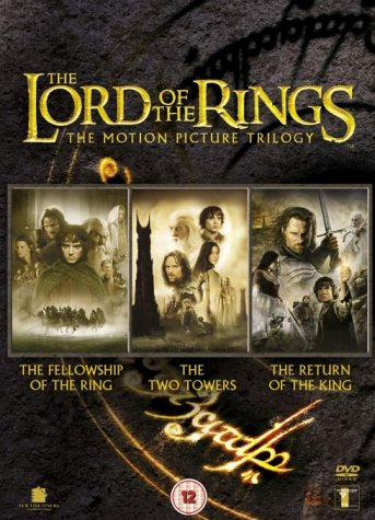 Image result for lord of the rings trilogy dvd