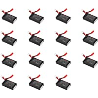 15 x Quantity of Walkera Rodeo 110 FPV Racing Quadcopter Rodeo 110-Z-21 Li-Po Battery 7.4V 850mAh 25C 2S 2 Cell Power Pack Lithium Polymer Fuel Source