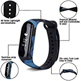 PACC MAN Smart Band Fitness Tracker Watch Heart Rate with Activity Tracker Waterproof Body Functions Like Steps Counter, Calorie Counter, Blood Pressure, Heart Rate Monitor LED Touchscreen
