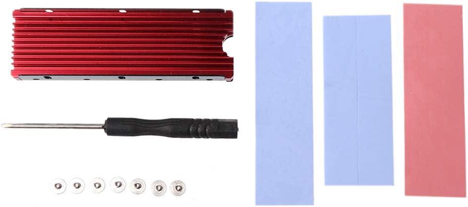 jiulonerst Dustproof M.2 Heatsink Cooling Metal Sheet Thermal Pad
