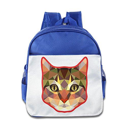(Ysov Cat Little Kid Preshool Backpack RoyalBlue)