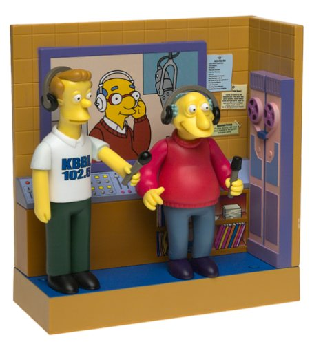 The Simpsons Playset: KBBL Radio Station