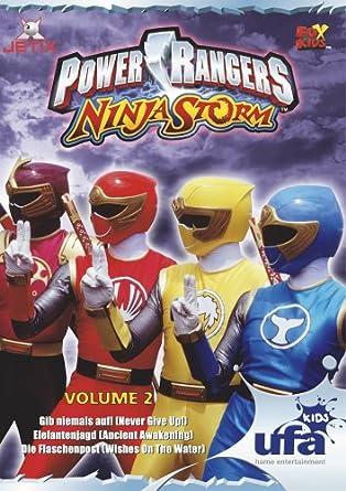 Amazon.com: Power Rangers - Ninja Storm Vol. 2 (Episoden 05 ...