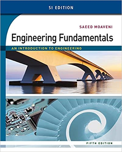 Amazon Com Engineering Fundamentals An Introduction To Engineering Si Edition 9781305105720 Moaveni Saeed Books
