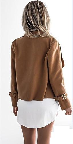 Lazylady – Chaqueta – Gabardina – para mujer marrón marrón claro